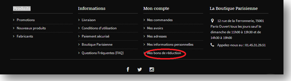Bons de réduction el-badia : validation