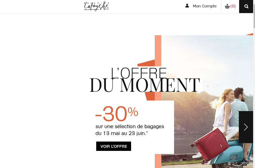 Galeries Lafayette : réduction